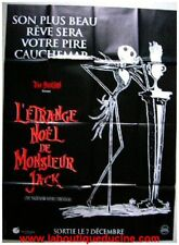 ETRANGE NOEL DE MR JACK Affiche ciné, Poster Tim Burton