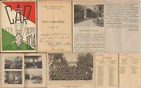 BRESCIA-CASERMA OTTAVIANI-3° CAR-VITA E RICORDI CLASSE 1924-BRESCIA 1946-ILLUSTR