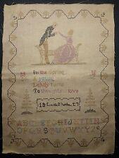 1927 - Cross Stitch SAMPLER