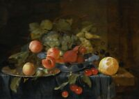 """high quality oil painting 100% handpainted on canvas """"Still life of fruit"""""""