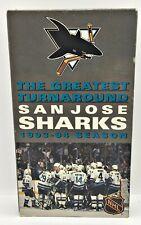 San Jose Sharks 1993-94 RARE VHS tape The Greatest Turnaround