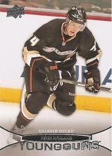 Peter Holland 2011-12 Upper Deck Young Guns Rookie Card #452