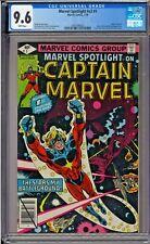 Marvel Spotlight #v2 #1 CGC 9.6 White Captain Marvel Drax Starfox Mentor 1979