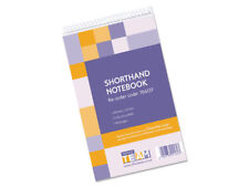 10 x Ruled Spiral Shorthand Paper Notepads 300 Pages £1.49 each