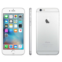 IPHONE DE APPLE 6 16 GB BLANCO SILVER ROTO DEFECTUOSO PLACA MADRE PIEZAS
