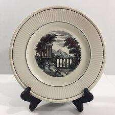 Wedgwood Etruria, England, Vintage Porcelain Plate, Roman Scene (numbered)