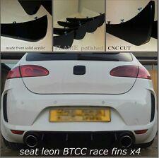 SEAT Leon BTCC Diffusore/Seat Leon Racing Race Pinne/SEAT LEON BTCC DIFFUSORE Pinne