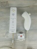 Nintendo RVL-003 Wii Remote Controller With Motion Plus and Nunchuck