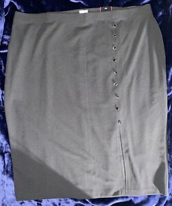 Avenue Black Plus Size SKIRT 26 28 Cute!! New!!