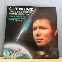 "CLIFF RICHARD She's So Beautiful 1985 UK 7"" vinyl single EXCELLENT CONDITION"