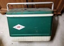 Vintage Coleman Metal Cooler Smaller Size 18 L X 10 1/2 W X 13 H
