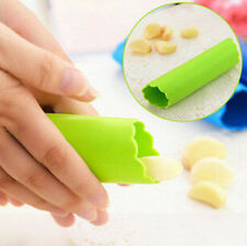 New Useful Kitchen Tools Magic Silicone Garlic Peeler Peel Easy  Random Color
