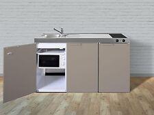 Stengel Mini Cucina Metallküche Singola 150cm Beige Vasca Destra Ceran