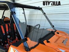 "RZR Full Windshield 900, 1000, 3/16"" Turbo Polaris Quick Straps Polycarbonate"