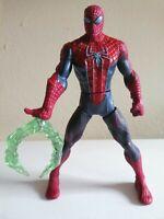 "2012 Marvel Spiderman 6"" Action Figure Web Battler Retractable Claw"