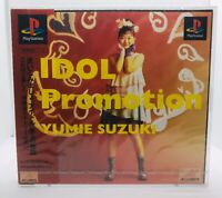 PlayStation 1 PS1 IDOL PROMOTION Yumie Suzuki  Japan New Unopened