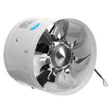 Inline Duct Booster High-speed Exhaust Fan 8 Inch Ventilator Fan Intake Outtake
