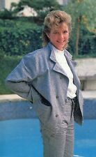 KRISTY McNICHOL PINUP CLIPPING FROM A MAGAZINE 80'S CUTE BY THE POOL