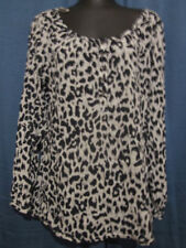 Millers Animal Print Long Sleeve Tops & Blouses for Women