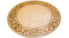 Teppich Rund K-Seide Mäander Medusa Beige Carpet 152 cm ∅ Rug Carpet versac