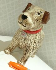 BN Cath Kidston ceramic brown Stanley DOG BUD VASE ornament BRAND NEW