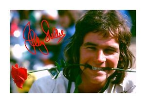 Barry Sheene (2) A4 signed photograph picture poster. Choice of frame.