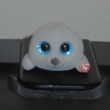 TY Mini Beanie Boos Series 3 NEAL the Seal Vinyl Figure Hand Painted 2018 NEW 2""