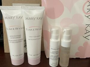 Discontinued MARY KAY TimeWise Miracle Set Travel Size NORMAL DRY SKIN  4 pieces