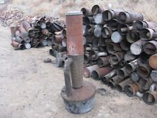 Smudge pot, used, kerosene, diesel, heater, return pipe with tin elbow