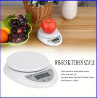 5KG/1G Digital Kitchen Scales LCD Electronic Food Measuring Weight Tool