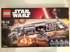 New Star Wars Lego Set 75140 Resistance Troop Transporter With 4 Mini-figures