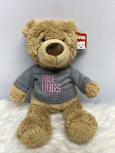 "Gund Free Hugs 12"" Bear NEW"