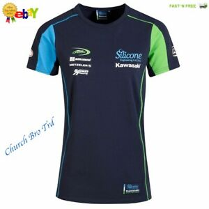 NEW Official Silicone Racing Kawasaki Team Ladies T shirt – 19SK-LT  Size M