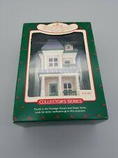 Excellent Vintage Hallmark 1987 House On Main ST. Ornament Nostalgic Houses Shop