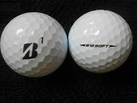 "10 BRIDGESTONE  ""E12 SOFT"" - 2019 MODEL - 3 PIECE Golf Balls - ""PEARL/A"" Grades."