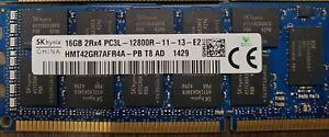 128GB (8 x 16GB) - Hynix HMT42GR7AFR4A 2Rx4 PC3L- 12800R - Tested Warranty!