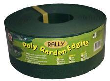 Landscaping Garden Edging Green 75mm x 30m Border Support Plastic Flexible