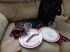 Wine/Cheese Portable Picnic Pack