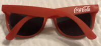 COCA-COLA Official Promo Red Sunglasses UV Eye Protection Coke Advertising