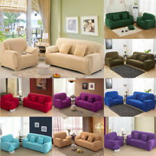 Stretch Home Elastic Sectional/Corner Fit Cover Covers Decor Sofa Fabric Couch