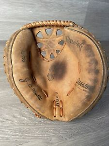 Spalding 42-793 J C Martin Chicago White Sox Catchers Mitt Baseball Japan RHT