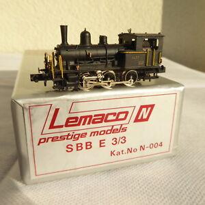 Lemaco 004 N Svizzera Ottone Piccola Serie Tigerli Vapore Ee 3/3 SBB IN Ottone