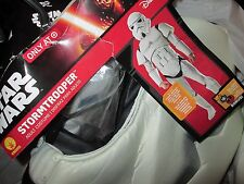 Adult STAR WARS Stormtrooper Costume LARGE 42-44 NEW Jumpsuit Mask Medallion NWT