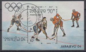 Stamps Briefmarken Laos Block Olympiade o