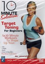 10 Minute Solution: Target Toning For Beginners | DVD NEU