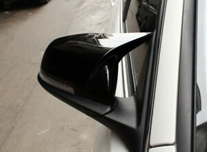 M3 look Glossy Black replacement Mirror Cover for BMW 1234 SE F30F20F22F32 12-19