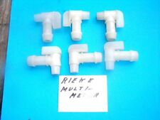 "QTY5  - RIEKE MULTI METER PLASTIC FAUCETS FOR BARRELS, 3/4"", NEW"