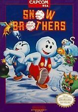 ***SNOW BROTHERS NES NINTENDO GAME COSMETIC WEAR~~~