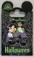 Disney Happy Halloween Trick or Treat Mickey Dressed As Vampire Pin Cute