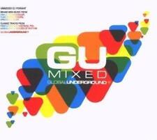 GLOBAL UNDERGROUND GU MIXED Unmixed DJ 4CDs (New Sealed) House UNKLE Xpress 2